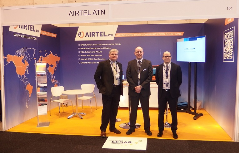 Airtel Exhibit at World ATM Congress 2016